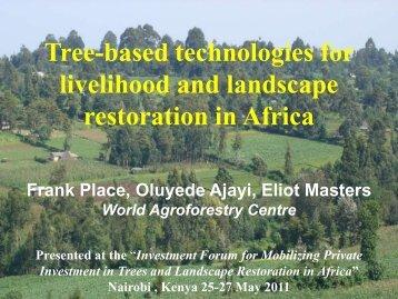 Oluyede Ajayi -- Tree Technologies - PROFOR