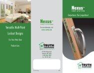 Nexus Multi-Point Locking System - Truth Hardware
