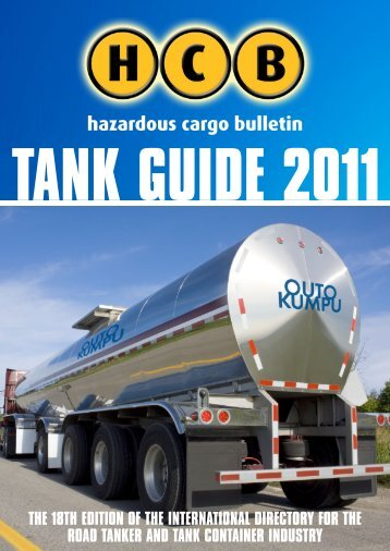 tank container operators - Hazardous Cargo Bulletin