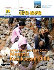 Merintis Kesuksesan 2009 Merintis Kesuksesan ... - Ditjen Cipta Karya