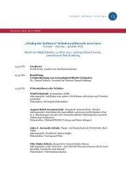 Veranstaltungsprogramm - Herbert Quandt-Stiftung
