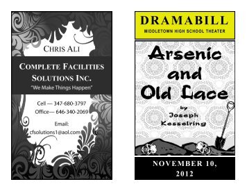 DRAMABILL - Middletown City School District