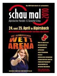 24.und 25. April in Alpirsbach - HGV Alpirsbach