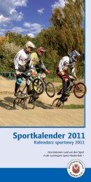 Wichtige Termine im Sportjahr 2011 - Sportstättenbetrieb der Stadt ...