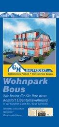 Wohnpark Bous B ENERGIE - GM-BAUPROJEKT