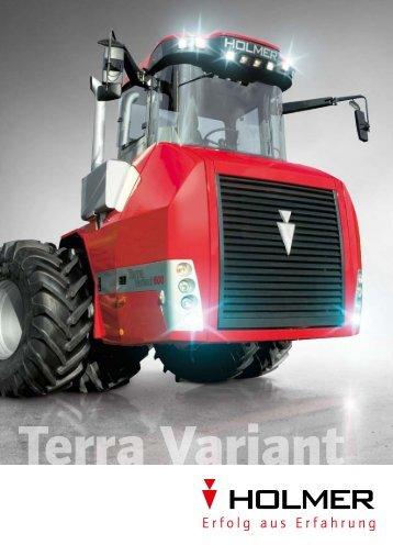 Brochures Terra Variant deutsch (PDF, 927 kb) - Holmer ...