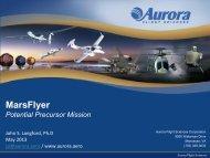 Mars Precursor Missions_John Langford, MarsFlyer