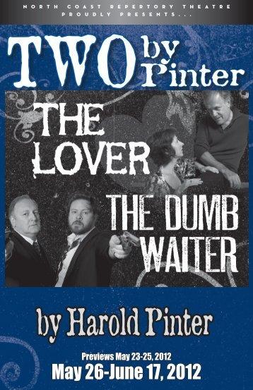 by Harold Pinter - North Coast Repertory Theatre