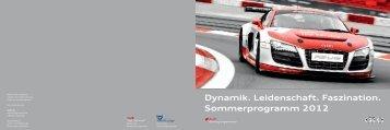 Sommerprogramm 2012 - Audi