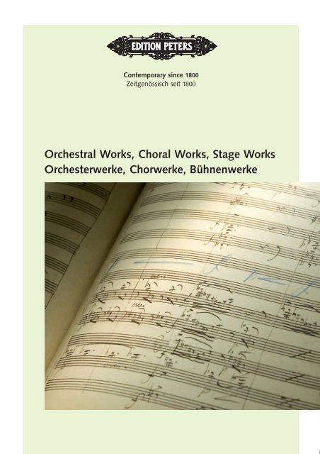 Ausgewählte Chorwerke für gemischten Chor a cappella Weismann