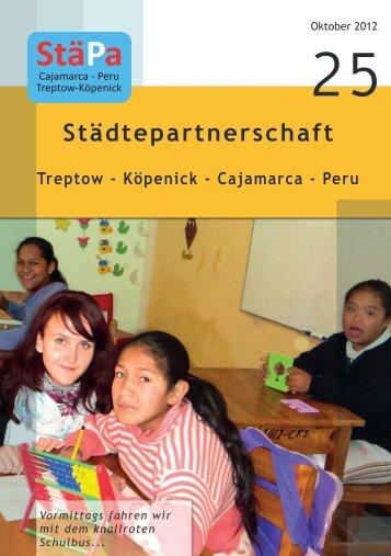 StäPa Broschüre Oktober 2012_Nr.25 - Städtepartnerschaft Treptow ...