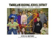 2006 Annual Report - Timberlane Regional School District