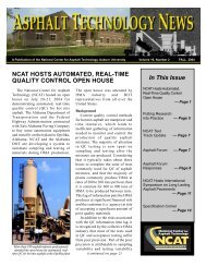 1 In This Issue NCAT HOSTS AUTOMATED ... - Auburn University