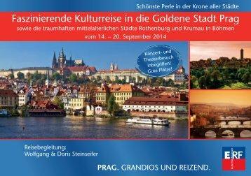 Faszinierende Kulturreise in die Goldene Stadt Prag - ERF Medien