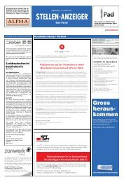 Gross heraus- kommen - Tagesanzeiger e-paper