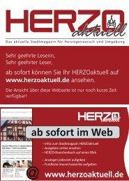 ab sofort im Web - HERZOiNFO.DE