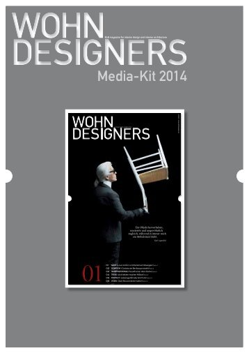 Media-Kit 2014 - wohndesigners