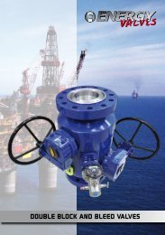DOUBLE BLOCK AND BLEED VALVES - Global Supply Line