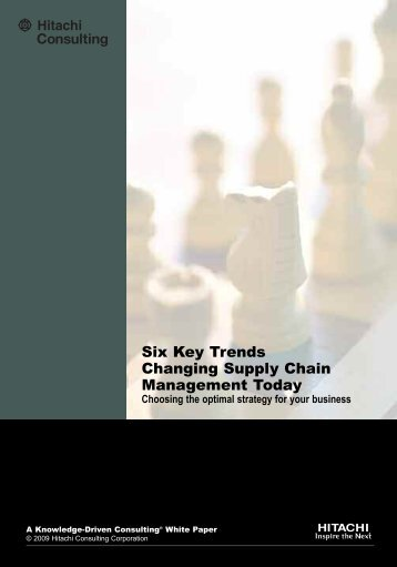 Six Key Trends Changing Supply Chain Management Today