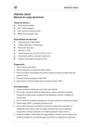 PRATIKA 100-05 Báscula de carga electrónica - Wigam