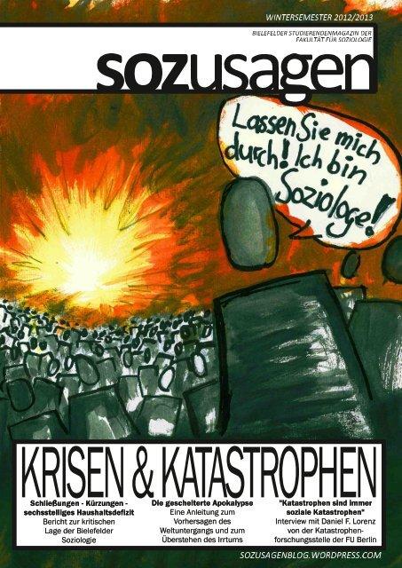 Krisen und Katastrophen - sozusagen - WordPress.com