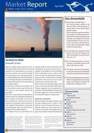 Market Report - Hanseatic Brokerhouse