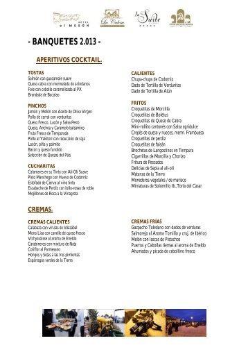 CARTA OST 2013-sin precios-low - La Calesa Catering