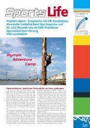 Olympic Adventure Camp - Stadtsportbund Düsseldorf
