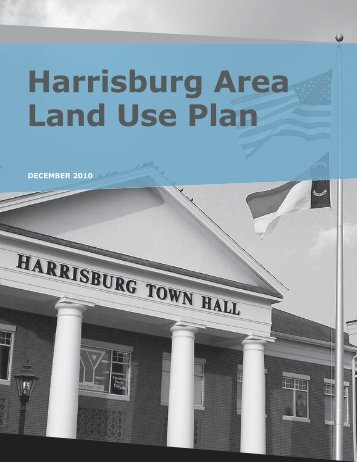 Harrisburg Area Land Use Plan - Cabarrus County