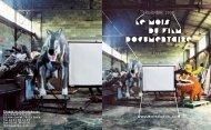 Catalogue-bilan - Le Mois du Film Documentaire