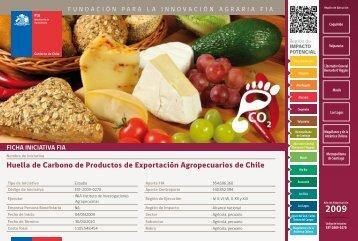 Huella de Carbono de Productos de Exportación ... - Fia