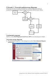 Ćwiczenie 1. Tworzenie podstawowego diagramu