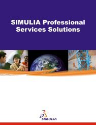 SIMULIA Professional Services Solutions