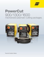 PowerCut® - ESAB Welding & Cutting Products