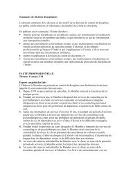 Discipline Decision Summary - Ontario College of Social Workers ...