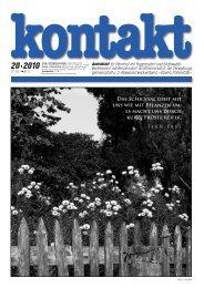 Ausgabe 20 (21.10.2010) - Herrnhut