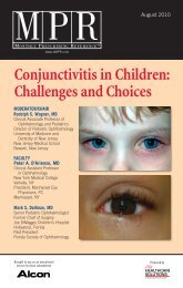 Conjunctivitis in Children: Challenges and Choices - MPR