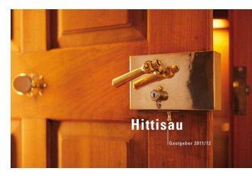 Unterkunftsverzeichnis 2011-2012 - Hittisau
