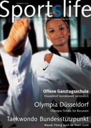 Offene Ganztagsschule - Stadtsportbund Düsseldorf