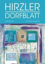 Dorfblatt 82 - Gemeinde Hirzel