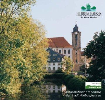 Informationsbroschüre der Stadt Hildburghausen