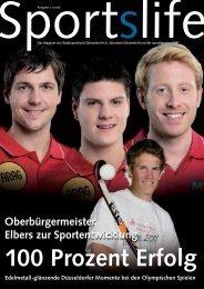 100 Prozent Erfolg - Stadtsportbund Düsseldorf