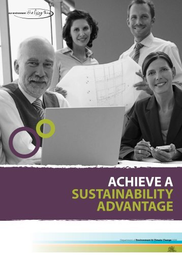 Sustainability Advantage Program - Department of Environment and ...
