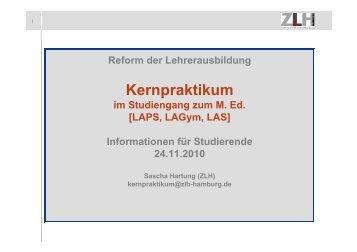 Kernpraktikum p - ZLH-Hamburg