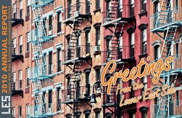 LESBIDannualreport20.. - Lower East Side Business Improvement ...