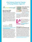 21st Century Tools for Parents of Young Children, Ages 0-5 Watch ... - Page 2