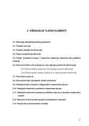 2. višedijelni tlačni elementi