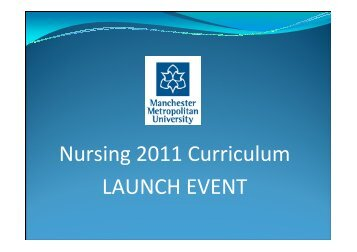 Curriculum Launch Presentation