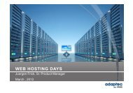WEB HOSTING DAYS - WorldHostingDays