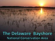 The Opportunity - Delaware Department of Natural Resources and ...